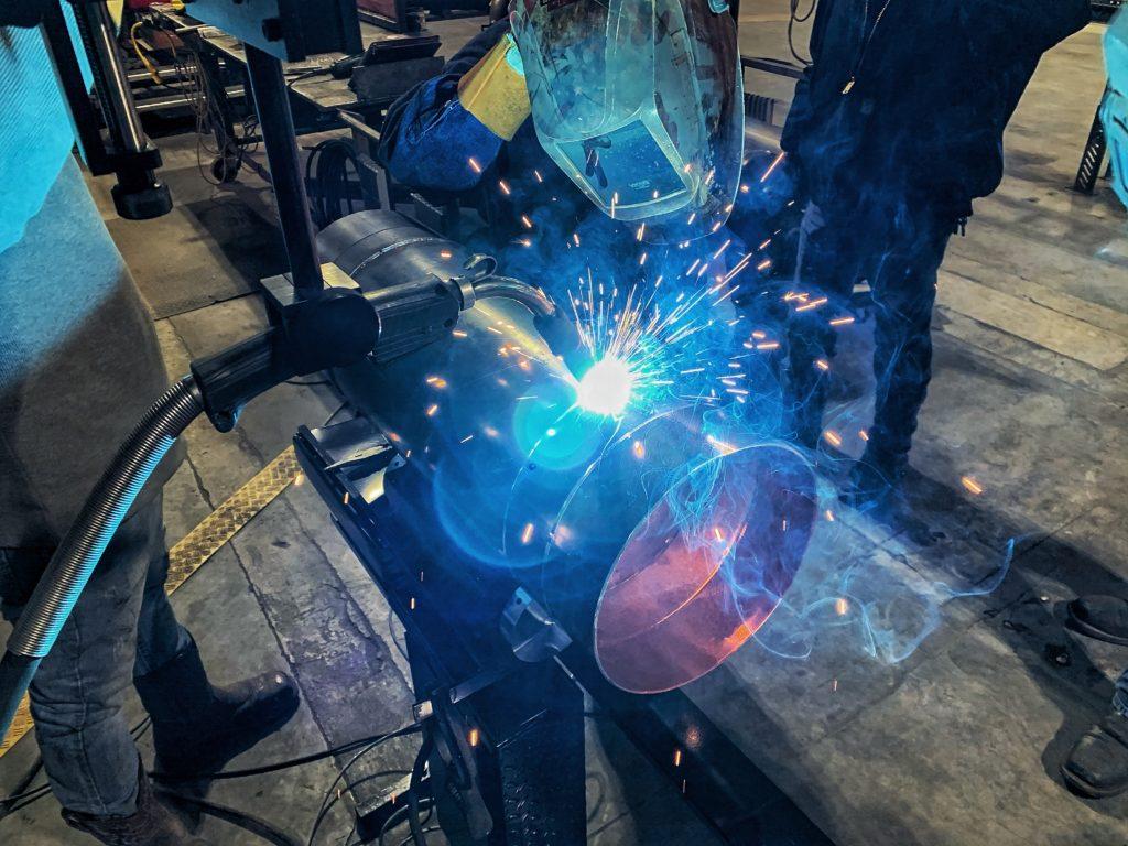 Semi- Automatic Welding